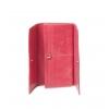 Кошелек Nina Farmina 9280 розовый кожаный