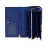 Кошелек Nina Farmina 9281-115 темно-синий кожаный