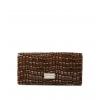 Кошелек Nina Farmina 9281-126 коричневый кожаный