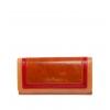 Кошелек Nina Farmina 9281 светло-коричневый с декором кожаный