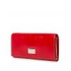 Кошелек Nina Farmina 9281 красный кожаный