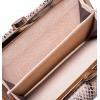 Кошелек Nina Farmina 282-026 серо бежевый кожаный