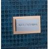 Кошелек Nina Farmina 9282-026 синий кожаный