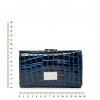 Кошелек Nina Farmina 9282-026 темно-синий кожаный