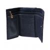 Кошелек Nina Farmina 9282-122 темно-синий кожаный