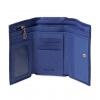 Кошелек Nina Farmina 9282-123 синий кожаный