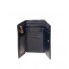 Кошелек Nina Farmina 9282 темно синий кожаный