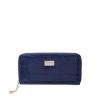 Кошелек Nina Farmina 9285-119 темно-синий кожаный