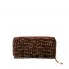 Кошелек Nina Farmina 9285-126 коричневый кожаный