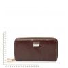 Кошелек Nina Farmina 9285-1 коричневый кожаный