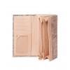 Кошелек Nina Farmina 9287-069 бежевый кожаный