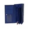 Кошелек Nina Farmina 9287-115 темно-синий кожаный