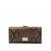 Кошелек Nina Farmina 9287-117 светло-коричневый кожаный