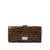 Кошелек Nina Farmina 9287-126 коричневый кожаный