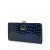 Кошелек Nina Farmina 9295-096 синий кожаный