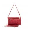 Клатч Nina Farmina 06AN11551красный кожаный