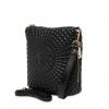 Клатч Nina Farmina 06AN5584 черный кожаный