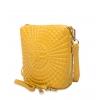 Клатч Nina Farmina 06AN5584 желтый кожаный
