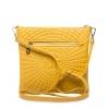 Клатч Nina Farmina 06AN903 желтый кожаный