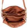 Клатч Nina Farmina 1206 песочный кожаный