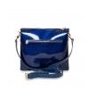 Клатч Nina Farmina 1206KR синий кожаный