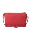 Клатч Nina Farmina 6288-025 красный кожаный