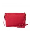 Клатч Nina Farmina 6288-028 красный кожаный