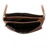 Клатч Nina Farmina 6288-075 кэмэл кожаный