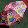 """Складной зонт трость """"Миньоны"""" 868-8"""