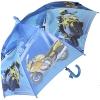 """Складной зонт трость детский для мальчика """"Гонки"""" 916-2"""