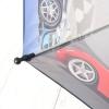 """Складной зонт трость детский для мальчика """"Гонки"""" 916-3"""