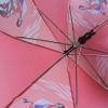 """Складной зонт трость детский для мальчика """"Гонки"""" 916-5"""