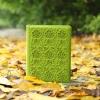 Фетровый чехол для Ipad жесткий зеленого цвета