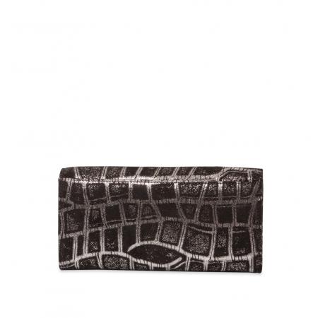 Кошелек Nina Farmina 9281-099 черный кожаный
