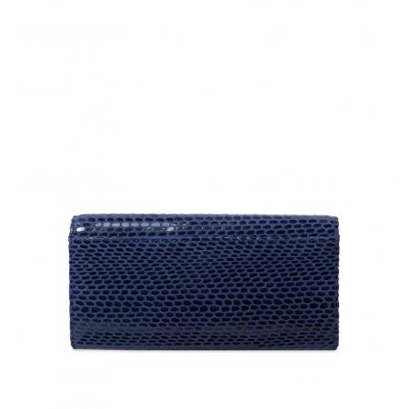Кошелек Nina Farmina 9281-119 темно-синий кожаный