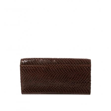Кошелек Nina Farmina 9281-121 коричневый кожаный