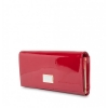Кошелек Nina Farmina 9281-026 красный кожаный
