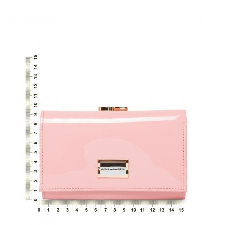 Кошелек Nina Farmina 9282-026 розовый кожаный