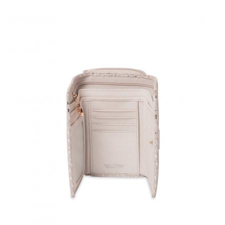 Кошелек Nina Farmina 9312-101 белый кожаный