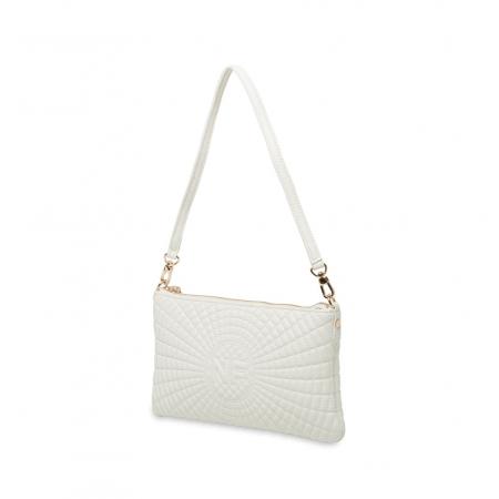 Клатч Nina Farmina 06AN11551 белый кожаный