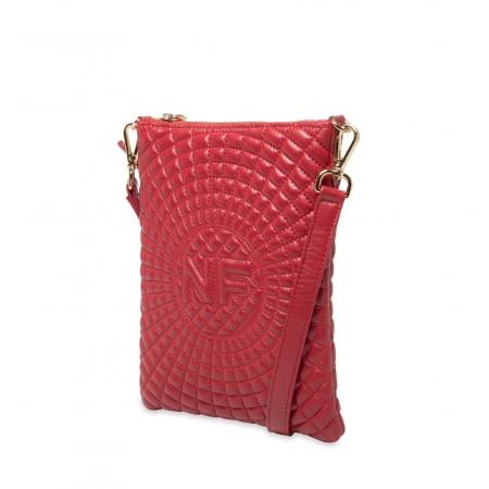 Клатч Nina Farmina 06AN12181 красный кожаный