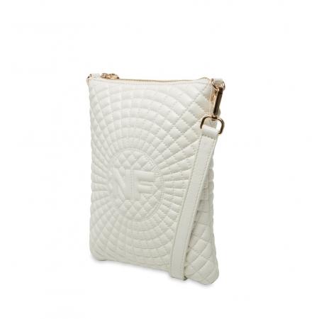 Клатч Nina Farmina 06AN12181 белый кожаный