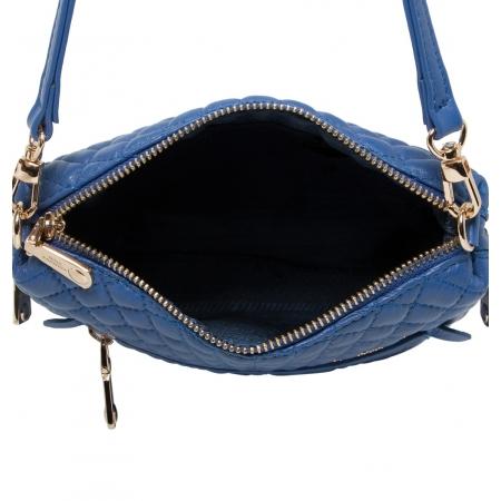 Клатч Nina Farmina 06AN5584 голубой кожаный