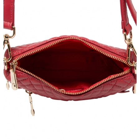 Клатч Nina Farmina 06AN5584 красный кожаный