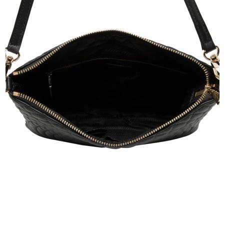 Клатч Nina Farmina 06AN903 черный кожаный