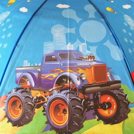 """Детский зонт для мальчика """"машинки Вспыш"""" 984-1"""