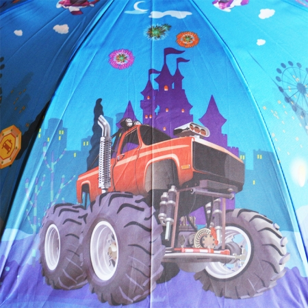 """Детский зонт для мальчика """"машинки Вспыш"""" 984-2"""