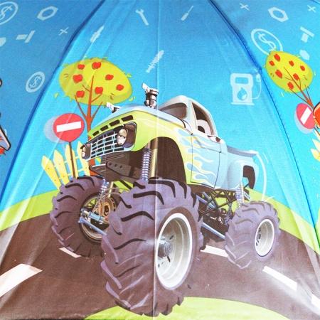 """Детский зонт для мальчика """"машинка Вспыш"""" 984-3"""