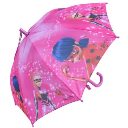"""Складной зонт трость детский для девочки """"Леди Баг"""" 902-3"""