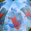 """Складной зонт трость детский для мальчика """"Человек-паук"""" 854-6"""